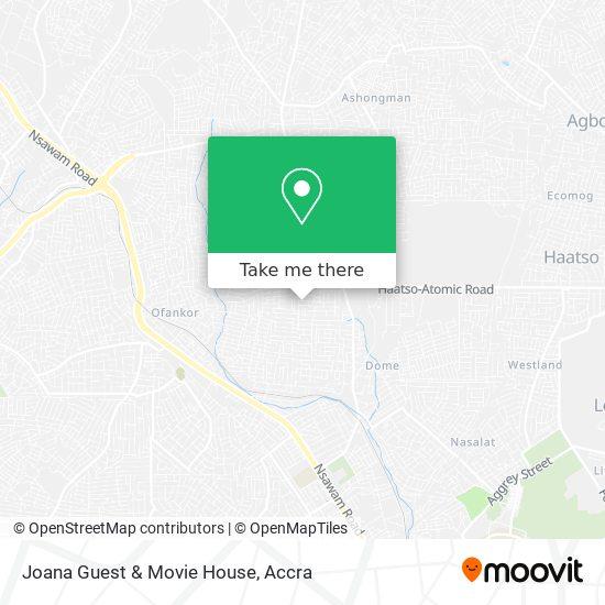 Joana Guest & Movie House map