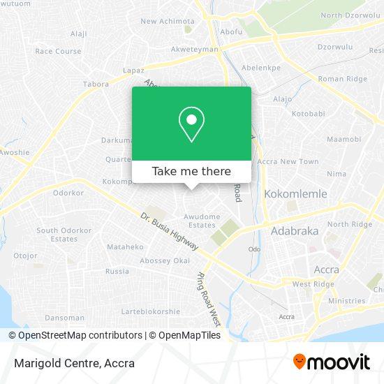 Marigold Centre map