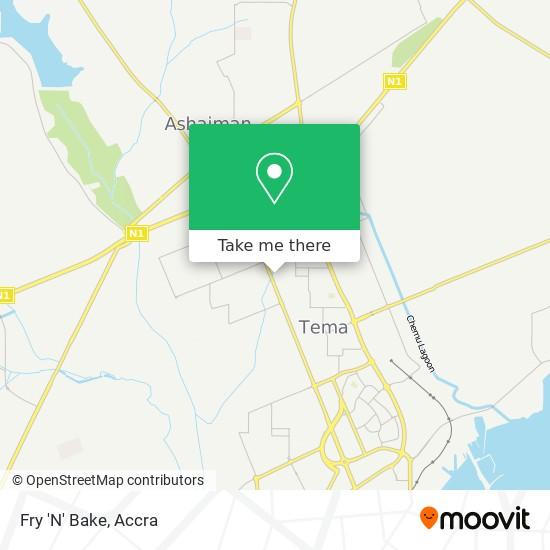 Fry 'N' Bake map