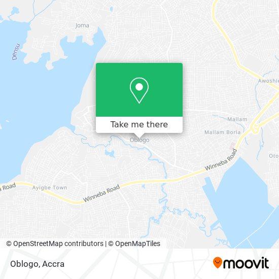 Oblogo map