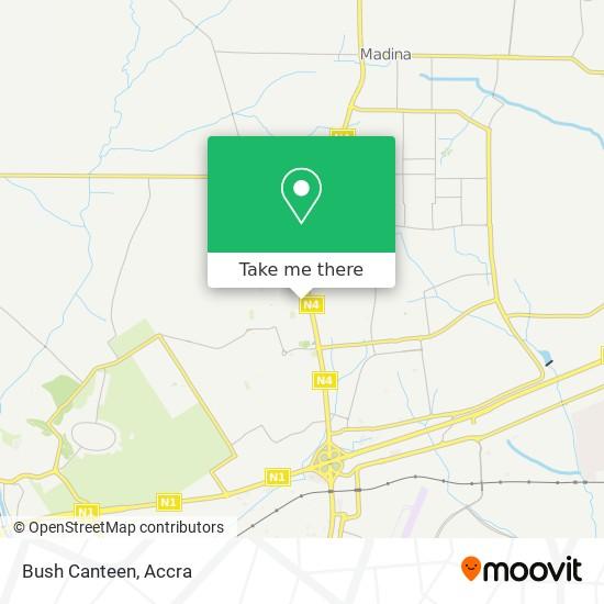 Bush Canteen map