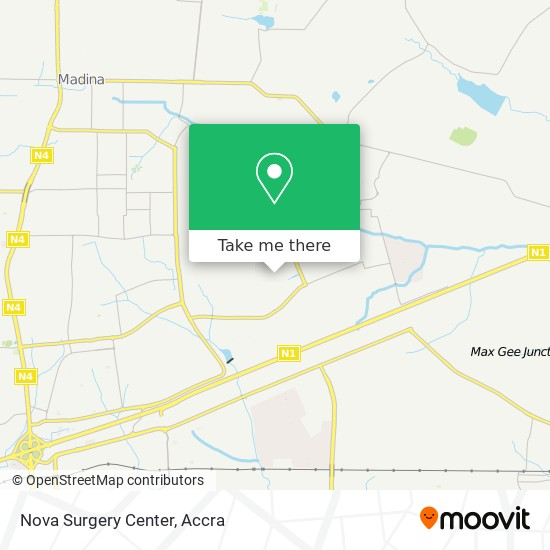 Nova Surgery Center map