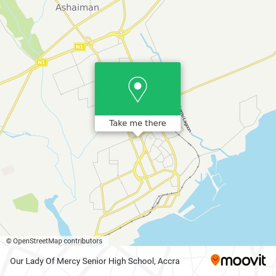 Our Lady Of Mercy Senior High School map