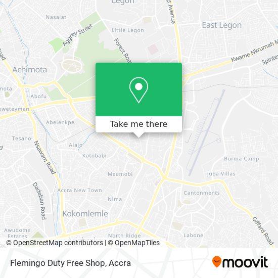 Flemingo Duty Free Shop map