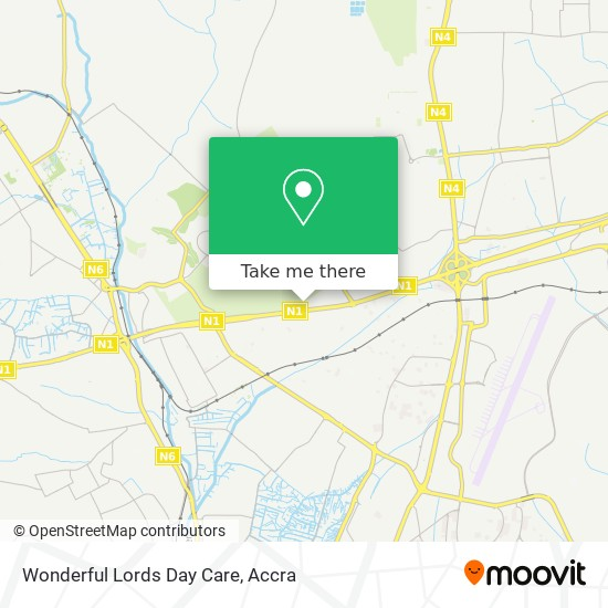 Wonderful Lords Day Care map