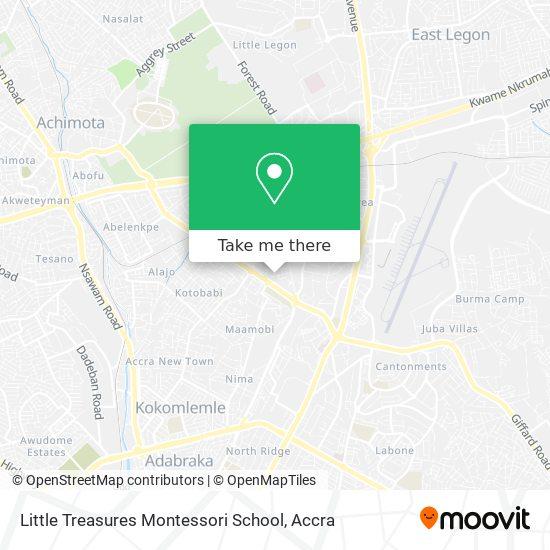 Little Treasures Montessori School map