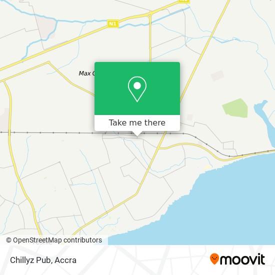 Chillyz Pub map