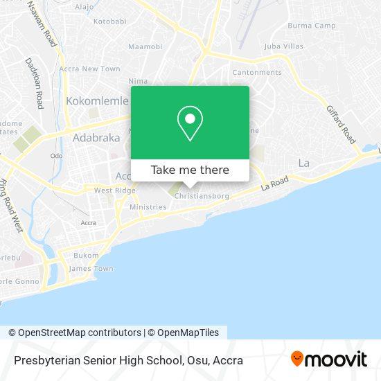 Osu Salem J.S.S map