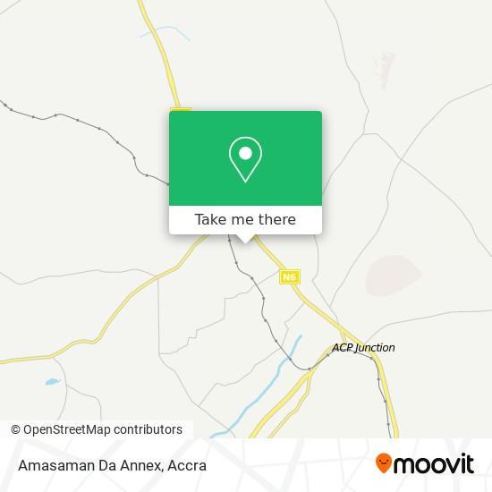Amasaman Da Annex map