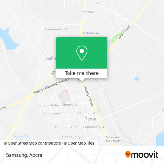 Samsung map