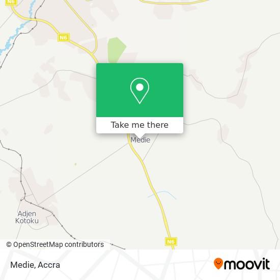 Medie map