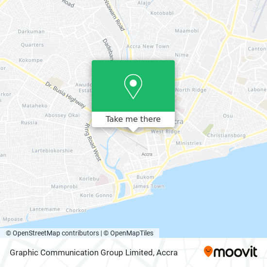 Graphic Communication Group Limited map