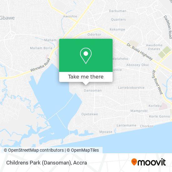 Childrens Park (Dansoman) map