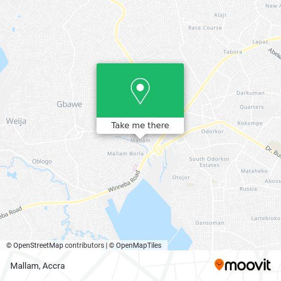 Mallam map