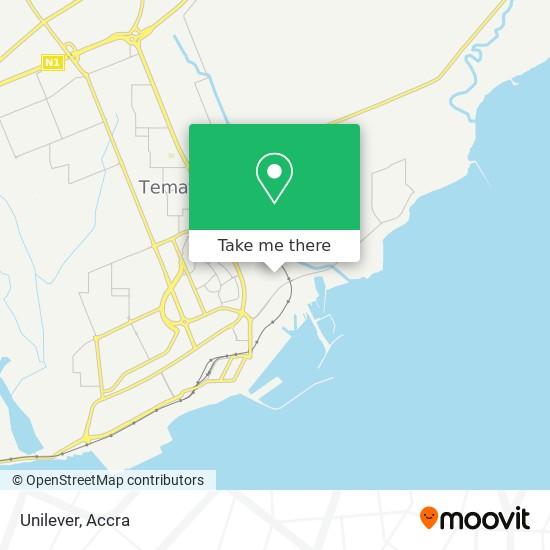 Unilever map