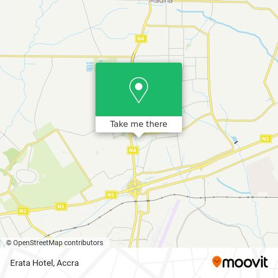 Erata Hotel map