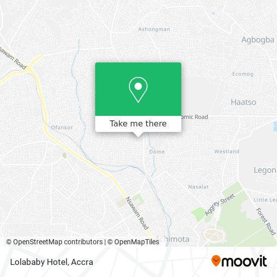 Lolababy Hotel map