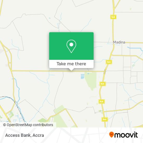 Access Bank map