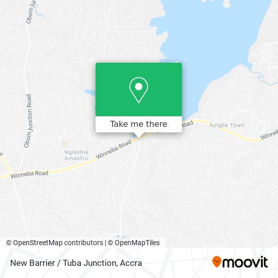New Barrier / Tuba Junction map