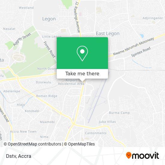 Dstv map