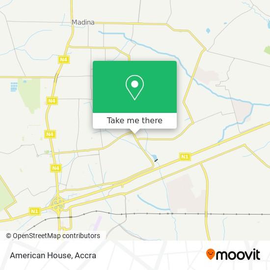 American House map