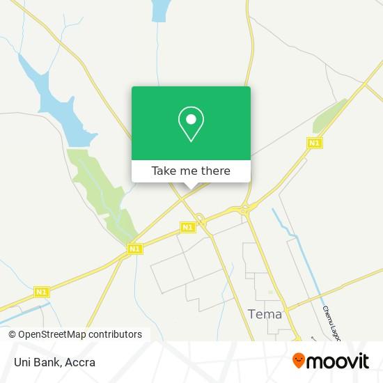 Uni Bank map