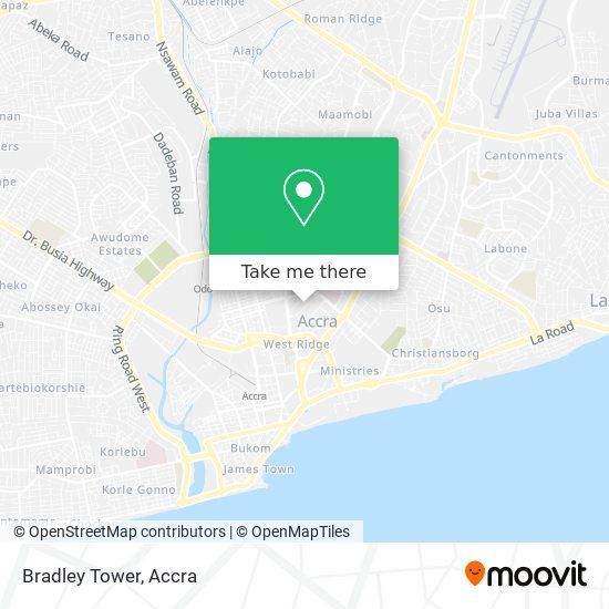 Bradley Tower map