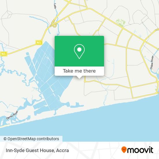 Inn-Syde Guest House map