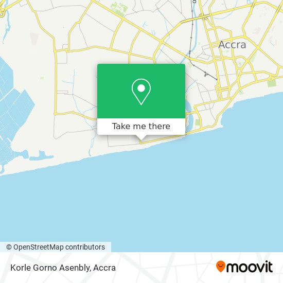 Korle Gorno Asenbly map