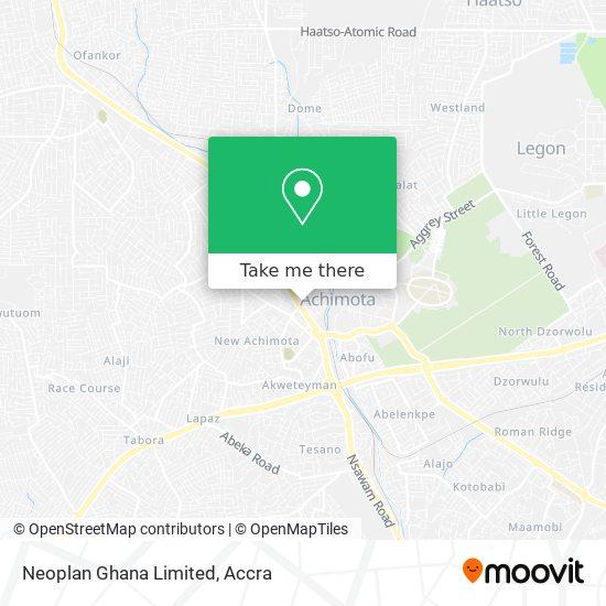 Neoplan Ghana Ltd. map