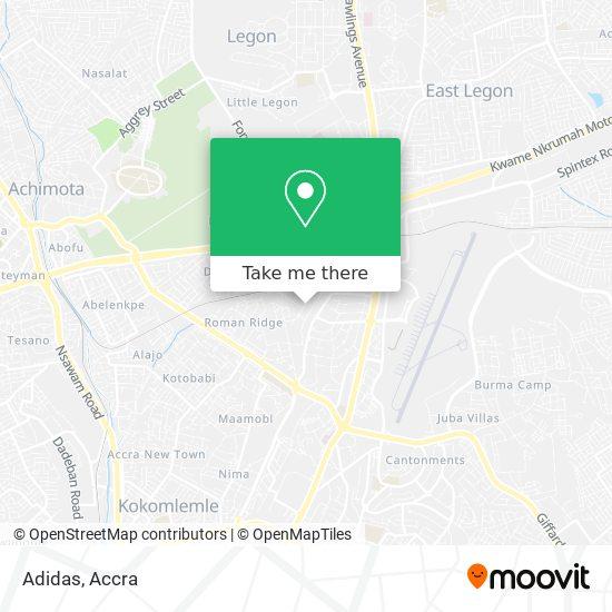Adidas map