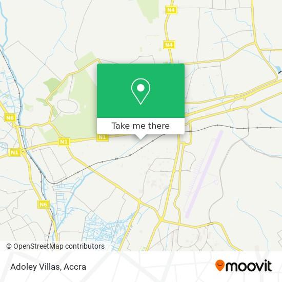 Adoley Villas map