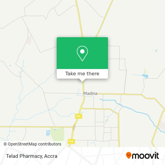 Telad Pharmacy map