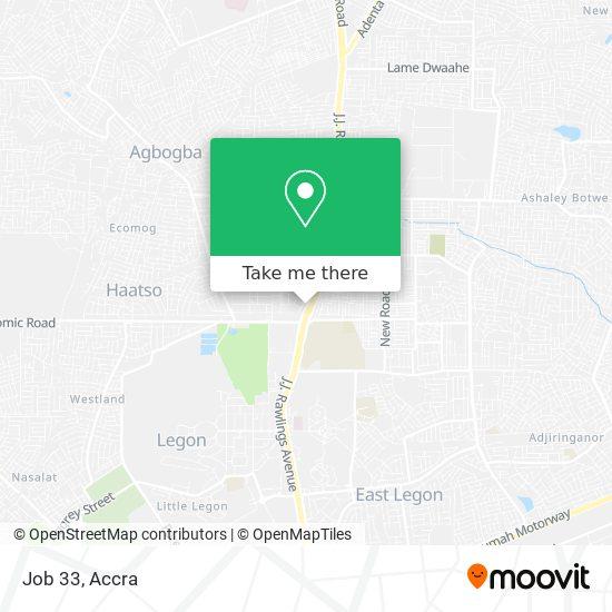 Job 33 map