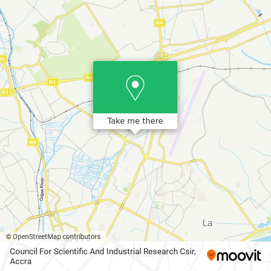 Council For Scientific And Industrial Research Csir map