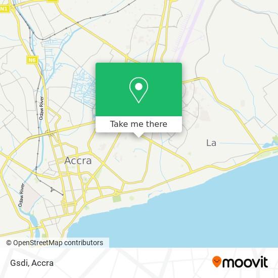 Gsdi map