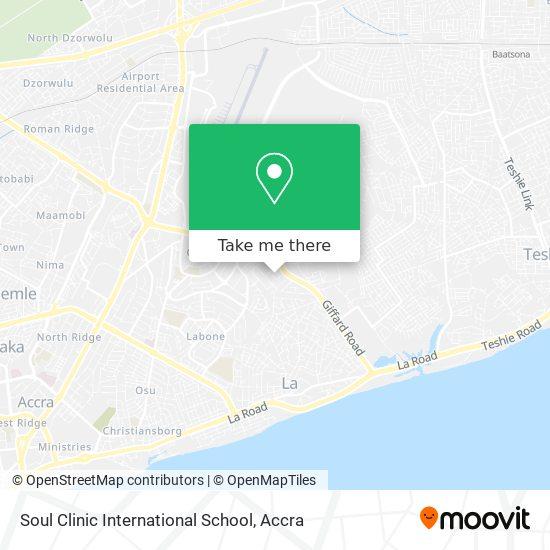 Soul Clinic International School map