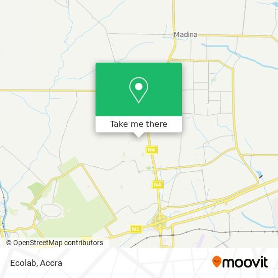 Ecolab map
