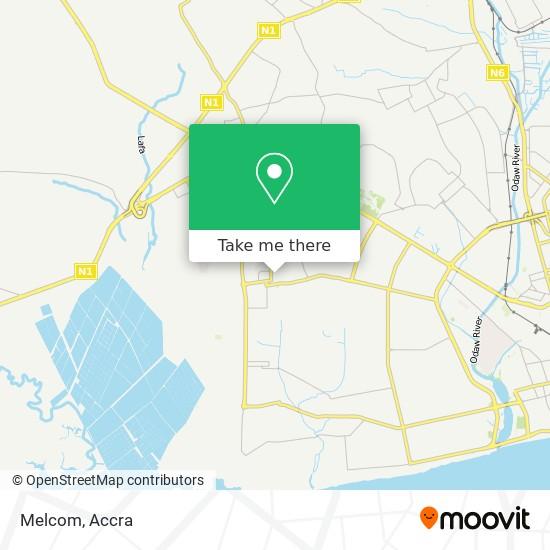 Melcom map