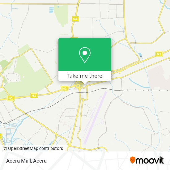 Accra Mall map