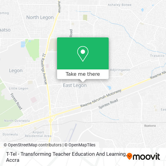 T-Tel - Transforming Teacher Education And Learning map