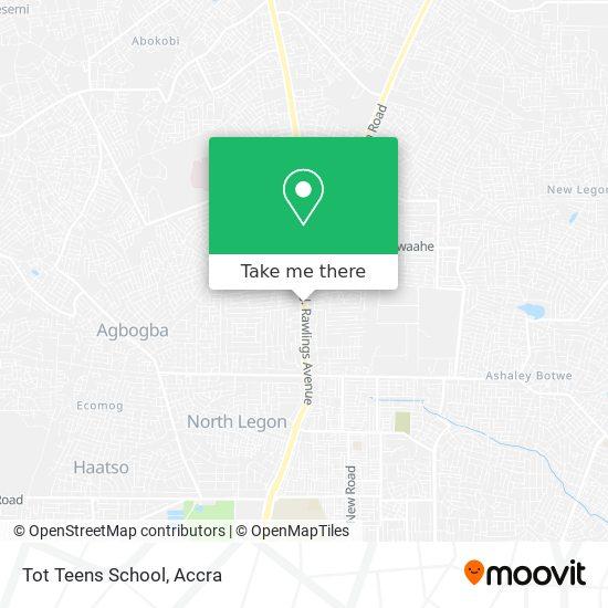 Tot Teens School map