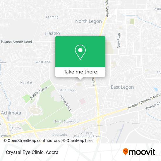 Crystal Eye Clinic map