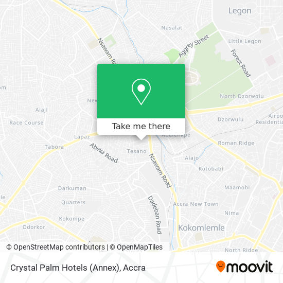 Crystal Palm Hotels (Annex) map