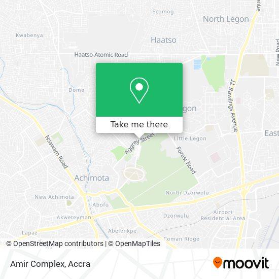 Amir Complex map