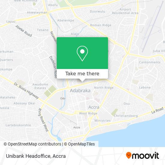 Unibank Headoffice map