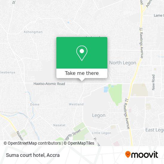 Suma court hotel map