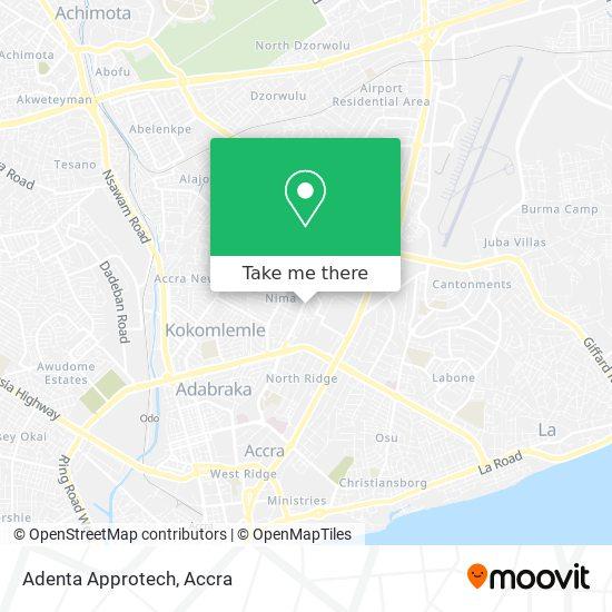 Adenta Approtech map