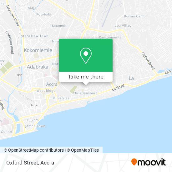 Oxford Street map