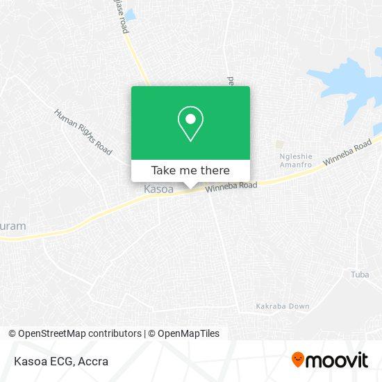 Kasoa ECG map
